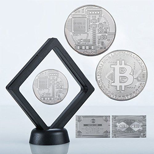 The Cypher Store Bitcoin Novelty with Display Case and Stand