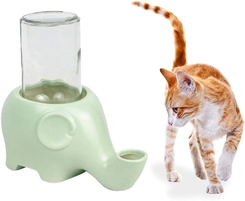Pet Drinkers Elephant Shape Pet Cat Dog Drinker Ceramic Glass Feeder Animal Pet Bowl Water Food Suppliers
