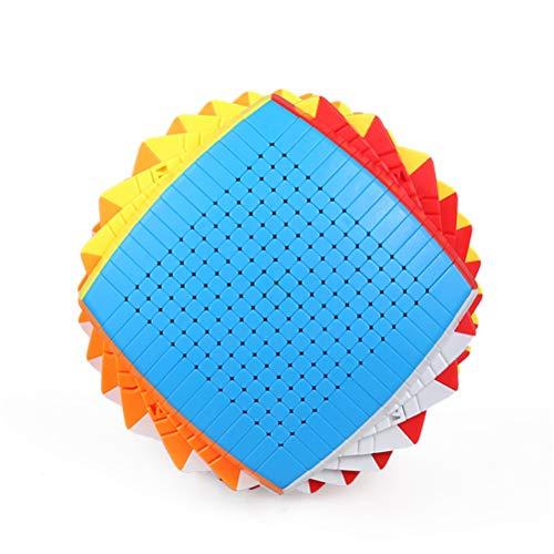 LEEEC Cubo De Velocidad Shengshou 12X12, 13X13, 15X15, 17X17 De Gama Alta Colección De Juguetes Rompecabezas De Gama Alta,15×15