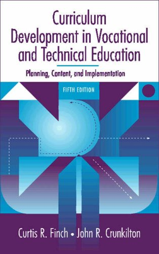 Curriculum Development in Vocational and Technical...