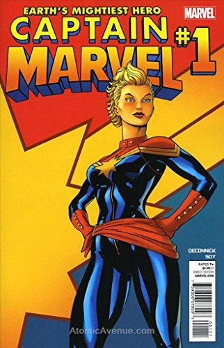 Captain Marvel (8th Series) #1 VF/NM ; Marvel comic book