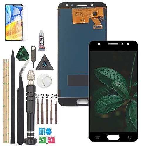 RongZy para Samsung Galaxy J5 LCD Display y para 2017 J530 SM-J530F J5 Pro Pantalla táctil Digitalizador con un Conjunto de Herramientas (Negro)