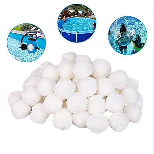 MINIKIMI filterballen filter zandfilter 700 g voor zandfilter alternatief voor 20 kg filterzand accessoires vervanging zwembadfilter filterinstallatie 1 Pack(700g)
