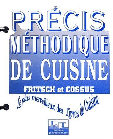 Précis Méthodique De Cuisine