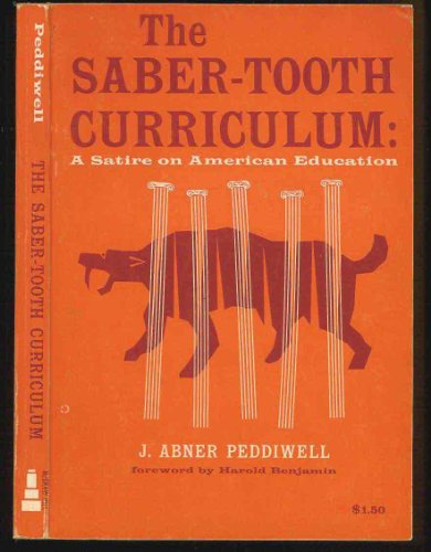 Saber Tooth Curriculum Including Other Lectures In The History Of Paleolithic Education
