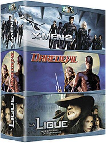 La Ligue des gentlemen extraordinaires / X-Men 2 / Daredevil - Tripack 3 DVD