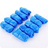 VANKER 100 (50 pares) Piezas Desechables Zapato,cubrecamas desechables resisten el agua, la suciedad y el barro.