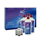 Producto Ciba Vision AO septiembre y Atención de Soft Contact Lenses Systempack 4x 360 ml