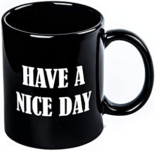 have a nice day middle finger