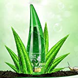 Gel calmante de 120 ml / 260 ml, WYZTLNMA gel de aloe vera, cremas faciales naturales gel hidratante para el tratamiento del acné (120ml)