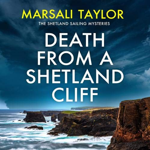 Death from a Shetland Cliff cover art