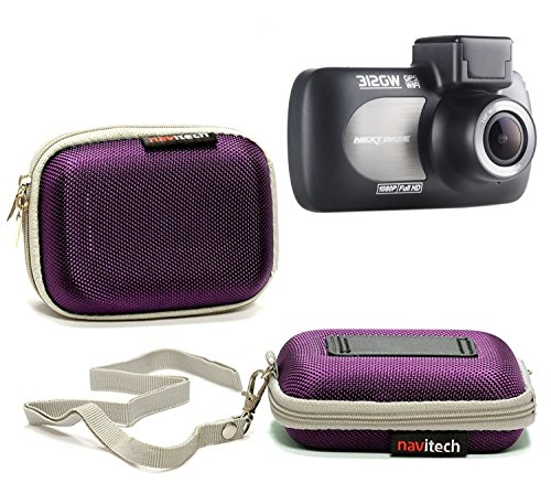Navitech Purple Water Resistant Dash Cam Case Cover Compatible with The EKEN H9s 4K Action Camera