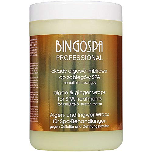 BINGOSPA professional Algen- und Ingwerkonzentrat gegen Dehnungsstreifen und Cellulite für Kompressen 1000 ml