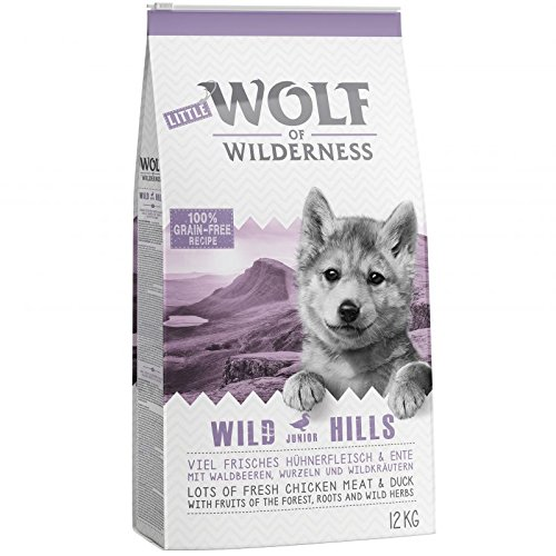 Little Wolf of Wilderness Junior-Hundefutter,