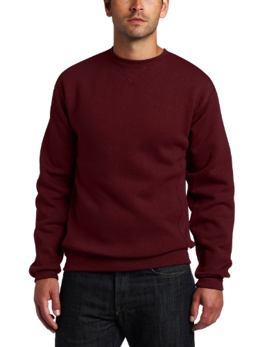 Russell Athletic Men's Dri-Power Fleece Sweatshirt, Maroon, 3X-Large