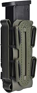 Risunpet 9mm Pistol Tactical Magazine Pouch Airsoft Hunting Shooting Molle Fastmag Softshell Mag Carrier Bag for Glock 17 19 1911 Mags