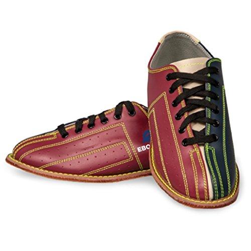 Ebonite Bowling Shoes Unisex Illuminator Rental Shoes- Red/Black, 13