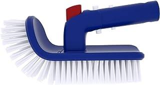 Poolvio Pool Brush with Fine Bristles for Step & Corner, Rotation Hand Scrub Brush, for Cleaning Spa, Bathroom, Floor, Hot...
