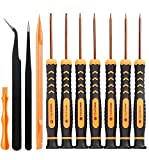 Torx Security Screwdriver Tool Set with T10 T8 T6 T5 T4 T3 T2
