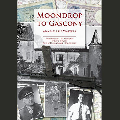 Moondrop to Gascony audiobook cover art