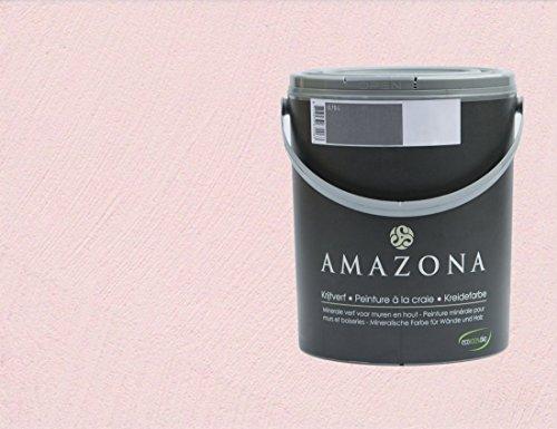 Amazona Kreidefarbe Rose 0,75 l für einen schönen Shabby Effekt