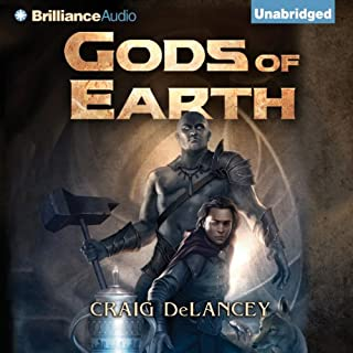 Gods of Earth audiobook cover art