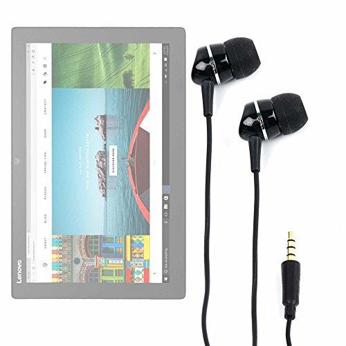 DURAGADGET Auriculares con Tablet ASUS Transformer Pro T304, ZenPad 3S 10 LTE/DELL Latitude 5285, 7285 / Lenovo Miix 720, X1 Tablet (2017), Yoga Book 12.2' - ¡con La Mejor Calidad De Sonido!