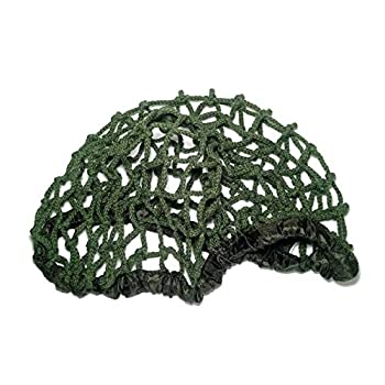 ANQIAO WWII WW2 US Soldier M1 Helmet Net Cover Heavy Duty Green Size No Size