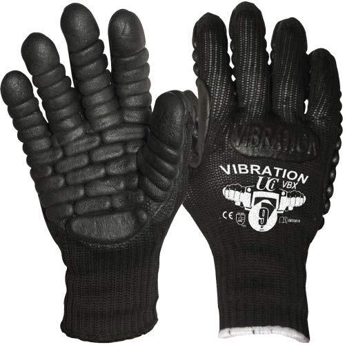 1 pair Anti Vibration Work Gloves Anti-Vibration Power Tools Vibration Reducing Gloves (Large (9))