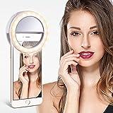 TYCKA Selfie Ring Light, 40 LED Selfie Light Ring Controllo...