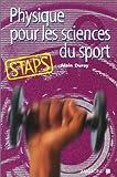 Physique pour les sciences du sport