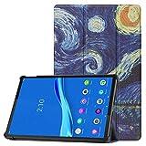 HoYiXi Funda para Lenovo Tab P11 TB-J606F de 11' Tableta 2020 Estuche de Tableta con Función de Soporte Funda Cover para Lenovo Tab P11 TB-J606F 2020 - Noche Estrellada