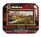 Walkers Shortbread Path To The Hills Assorted Shortbread Cookie Gift Tin, 8.5 Ounce (Pack of 2)