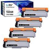 LxTek Compatible Reemplazo para Brother TN2320 TN2310 TN-2320 TN-2310 Cartuchos de Tóner para Brother MFC-L2700DW MFC-L2720DW MFC-L2740DW DCP-L2520DW DCP-L2540DN DCP-L2500D HL-L2340DW HL-L2300D
