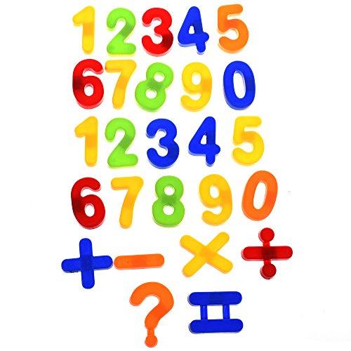 BCP Set of 26 pcs Plastic Magnetic Numbers