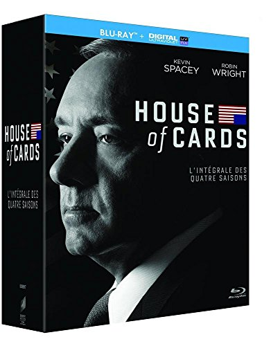 House of Cards-Intégrale Saisons 1-2-3-4 [Blu-Ray + Copie Digitale]