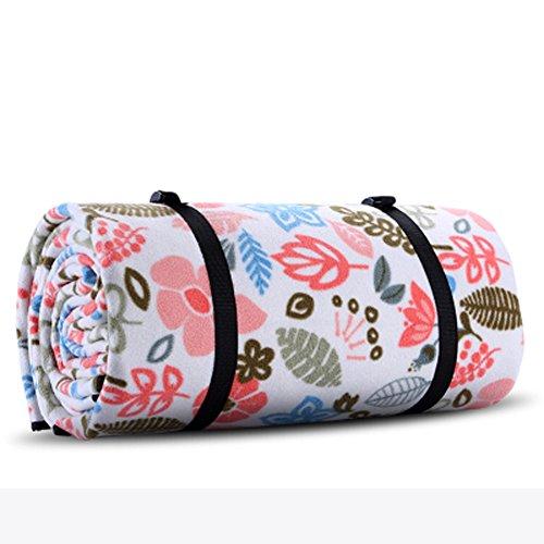J&DS Plein air Couvertures de Pique-Nique Imperméable Toison Extra-Large Camping Mat Portable Folding Tapis de Picnic pour Les Voyages randonnée Plage-C 79x118inch(200x300cm)