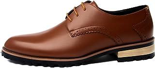[Flova] ビジネスシューズ メンズ 革靴 レースアップシューズ 黒 通勤 営業マン 冠婚葬祭 オールシーズン ブラック/ブラウン 24-26.5cm