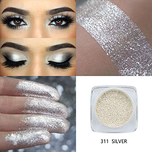 Ultra Pigment Schimmernder Lidschatten One Piece Metallic Sheer Iridescent Loose Eyeshadow Highlighter