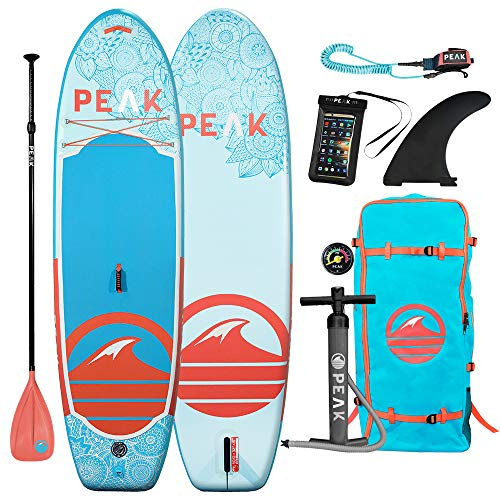 PEAK 10' Yoga & Fitness Inflatable Stand Up Paddle Board