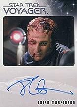 Star Trek Voyager Heroes & Villains Autograph Card Brian Markinson as Sulan