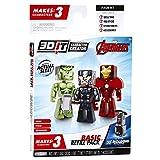 3D Character Creator Marvel Avengers Basic Refill Pack Novelty Toy