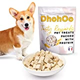 Dhohoo Dog Dried Raw Food and Complete Grain Free Chicken,100% Natural Chicken, No Artificial Flavours Natural Healthy Treat for your Dog. (Chicken,100g)