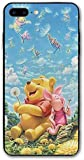 Custom iPhone 7/8 Plus Case Winnie The Pooh Quotes Printed Case Shock Absorption Cover Case for iPhone 7 Plus / 8 Plus New Year 2021