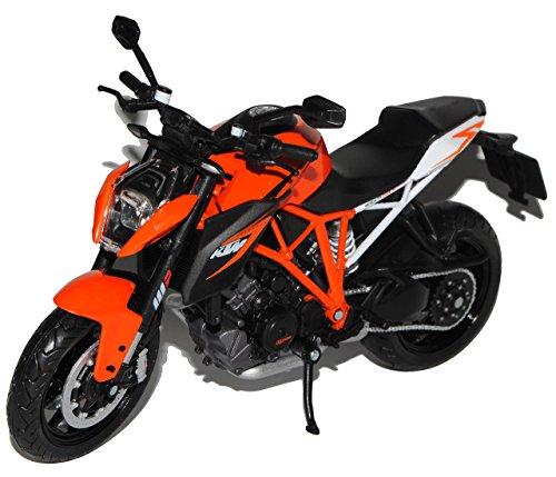 KTM 1290 Super Duke R Orange Schwarz Ab 2013 1/12 K-T-M Modell Motorrad Modell Auto