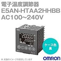 オムロン(OMRON) E5AN-HTAA2HHBB 電子温度調節器 プログラムタイプ 端子台タイプ 単相・三相ヒータ用 AC100~240V ブラック (出力ユニット方式) NN