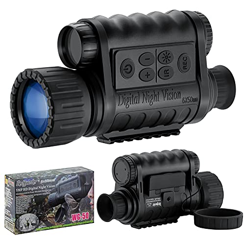 Bestguarder 6x50mm HD Digital Night Vision Monocular with...