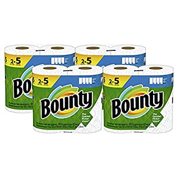 Bounty Select-A-Size Paper Towels White 8 Double Plus Rolls = 20 Regular Rolls