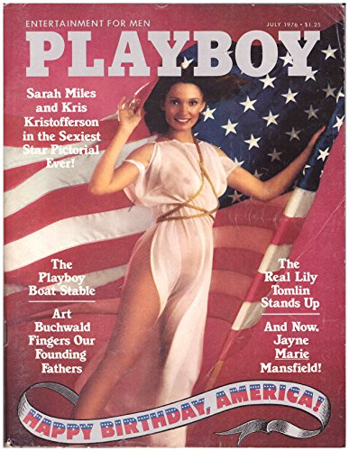 July 1976 Playboy Magazine -- Great Vintage Collectible!!!