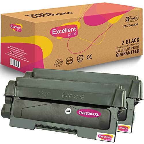 Excellent Print TN-2320 XXL Compatible Cartucho de Toner para Brother HL-L2365DW HL-L2360DW HL-L2380DW MFC-L2720DW
